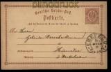 Deutsches Reich Crefeld Hufeisenstempel auf GSK Spalink # 6-6 (27897)
