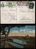 Deutsches Reich Winkwitz Meissen Land auf farb-AK Landpoststempel 1929 (27935)