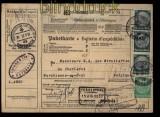 Deutsches Reich Auslands-Paketkarte Nürnberg 1937 nach Belgien (27957)