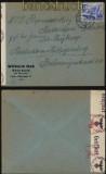 Deutsches Reich Mi # 742 Auslands-Zensur-Brief Eberbach 1940 (27972)