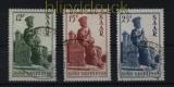 Saarland Mi # 293/95 gestempelt Heiliges Jahr 1950 (28051)