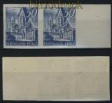 franz. Zone Rheinland-Pfalz Mi # 11 U waagerechtes Paar postfrisch (28064)