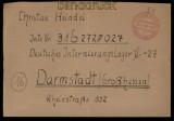 alli. Besetzung Gebühr bezahlt Horb (Neckar9 1947 nach Darmstadt (28072)