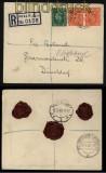 Großbritannien Feldpost-Einschreibe-Brief 1948 Field Post Office 339 (29377)