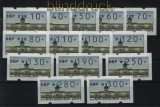 Berlin ATM 1997 Mi # 1 Versandstellensatz 1 komplett mit Nummern postfrisch (29470)