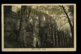Berg Oybin sw-AK Ruine Feldpost 1915 (d5524)