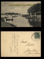 Friedrichstadt an der Eider sw-AK Partie an der Treene 1913 (d5534)