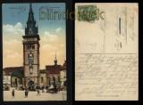 Komotau farb-AK Dekanalkirche ca. 1910 (d5539)