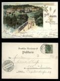 Drei Ähren farb-AK Trois Epis beiTtürkheim im Elsaß 1900 (d5543)