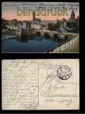 Metz farb-AK Ludwigstaden Feldpost 1915  (d5547)