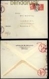 Dänemark Auslands-Zensurbrief Kopenhagen 1941 (29439)