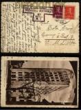 Rumänien Auslands-Zensurkarte Bukarest 1943 (29443)