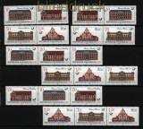 DDR Zusammendrucke Mi # 3067/70 postfrisch WZd 699 - SZd 339 Postgebäude (29577)
