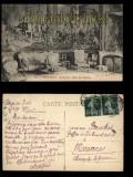 Aix-en-Provence sw-AK Archevéche Salon des Gobelins 1912 (a0925)