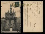 Bordeaux sw-AK Porte du Cailhau 1908 (a0927)