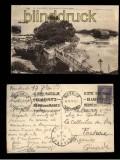 Biarritz sw-AK Le Basta á Marée basse 1912 (a0930)