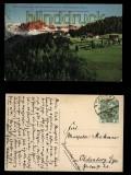 Bozen farb-AK Blick auf Herrenkohlern mit Rosengarten 1911 (a0942)