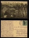 Prebischtor mit Rosenberg sw-AK Böhm. Schweiz 1913 (a0961)