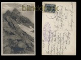 Feldkopf sw-Foto-AK Zsigmondyspitze Zillertal 1921 (a0969)