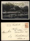 Bludenz sw-Foto-AK Totale mit Scesaplama ca. 1920 (a0975)