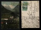 Bludenz farb-AK Blick auf Scesaplana 1911 (a0998)