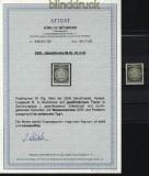 DDR Dienst Mi # 22 x I Wz. XI postfrisch Fotoattest Schönherr (29749)