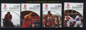 Jordanien Mi # 1961/64 Olympische Sommerspiele Peking China postfrisch (29777)