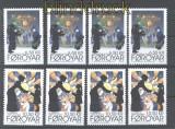 Faröer 4 x Mi # 736/37 Weihnachten postfrisch (30031)