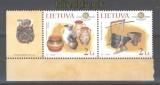 Litauen Mi # 1070/71 Volkskundliches Museum Alytus postfrisches Paar (30263)