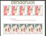 Monaco kleines postfrisches Blocklot Mi # 9, 16 und 17 (30270)