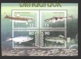 Slowenien Mi # Block 4 Fische postfrisch (30288)