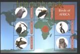 Gambia Vögel aus Afrika postfrischer Kleinbogen (29943)