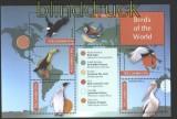 Gambia Vögel der Welt postfrischer Kleinbogen (29944)