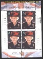 Jersey Mi # 1552 85. Geburtstag von Königin Elisabeth II postfrischer Kleinbogen (30087)