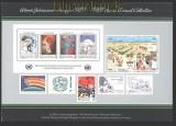 UNO Wien Jahressammelmappe 1986 postfrisch (30067)