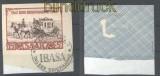 Saarland Mi # 291 Tag der Briefmarke SSt. gestempelt auf Briefstück geprüft (30335)