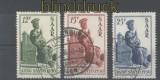 Saarland Mi # 293/95 Heiliges Jahr gestempelt (30338)