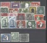 Bund 1956 kompletter gestempelter Jahrgang (30448)