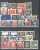 Bund 1957 kompletter postfrischer Jahrgang ohne Lumogen (30450)