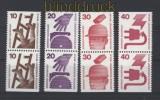 Berlin  Unfallverhütung senkrechte Paare geschnitten aus MH postfrisch (30544)