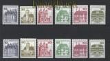 Berlin Burgen und Schlösser alle geschnittenen M7arken aus MH postfrisch (30553)