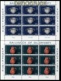 Guernsey Mi # 133/34 Europa-Marken 1976 postfrische Kleinbögen (30716)