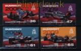 Guernsey Mi # 1363/66 Britische Formel-1-Rennfahrer (II) postfrisch (30721)