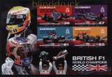 Guernsey Mi # Block 57 Britische Formel-1-Rennfahrer (II) postfrisch (30730)