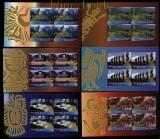 UNO New York Mi # 1068/72 Heftchenblätter UNESCO-Welterbe: Südamerika postfrisch (30787)
