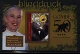 Gambia 50 Jahre Gombe The Jane Goodall Institute Blockausgabe postfrisch (31081)