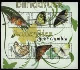Gambia 2011 Block Schmetterlinge postfrisch (31087)