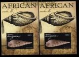 Tansania 2011 Block Muscheln aus Afrika postfrisch (31118)