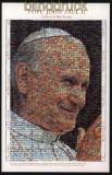 Gambia Mi # 3842/49 80. Geburtstag von Papst Johannes Paul II.postfrischer Kleinbogen (30648)