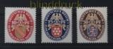 dt. Reich Mi # 399Y, 400 X und 401 X Nothilfe 1926 postfrisch (31318)